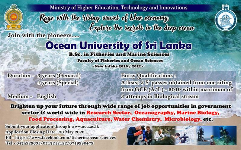 B.Sc. in Fisheries & Marine Sciences