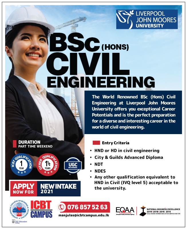 BSc (Hons) in Civil & Structural Engineering