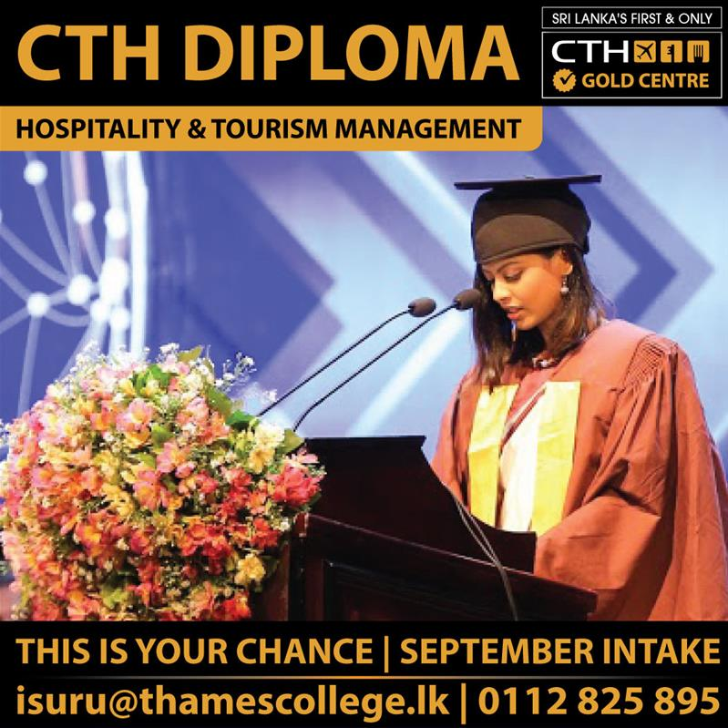 CTH Level 4 Diploma in Tourism Management
