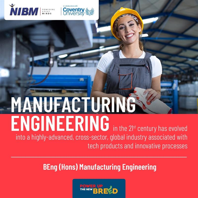 BEng (Hons) Manufacturing Engineering