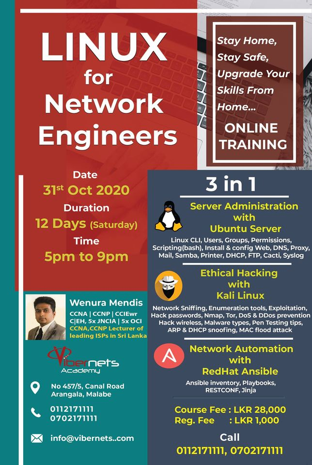 Linux For Network Engineers