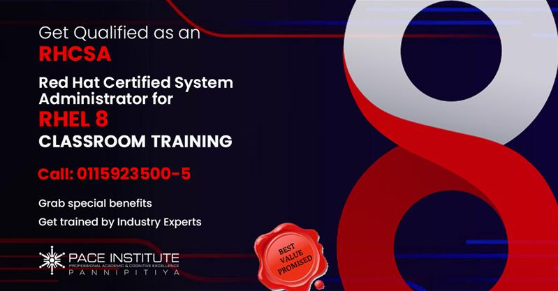 Red Hat Certified System Administrator (RHCSA) Certification for RHEL 8 - Classroom Training