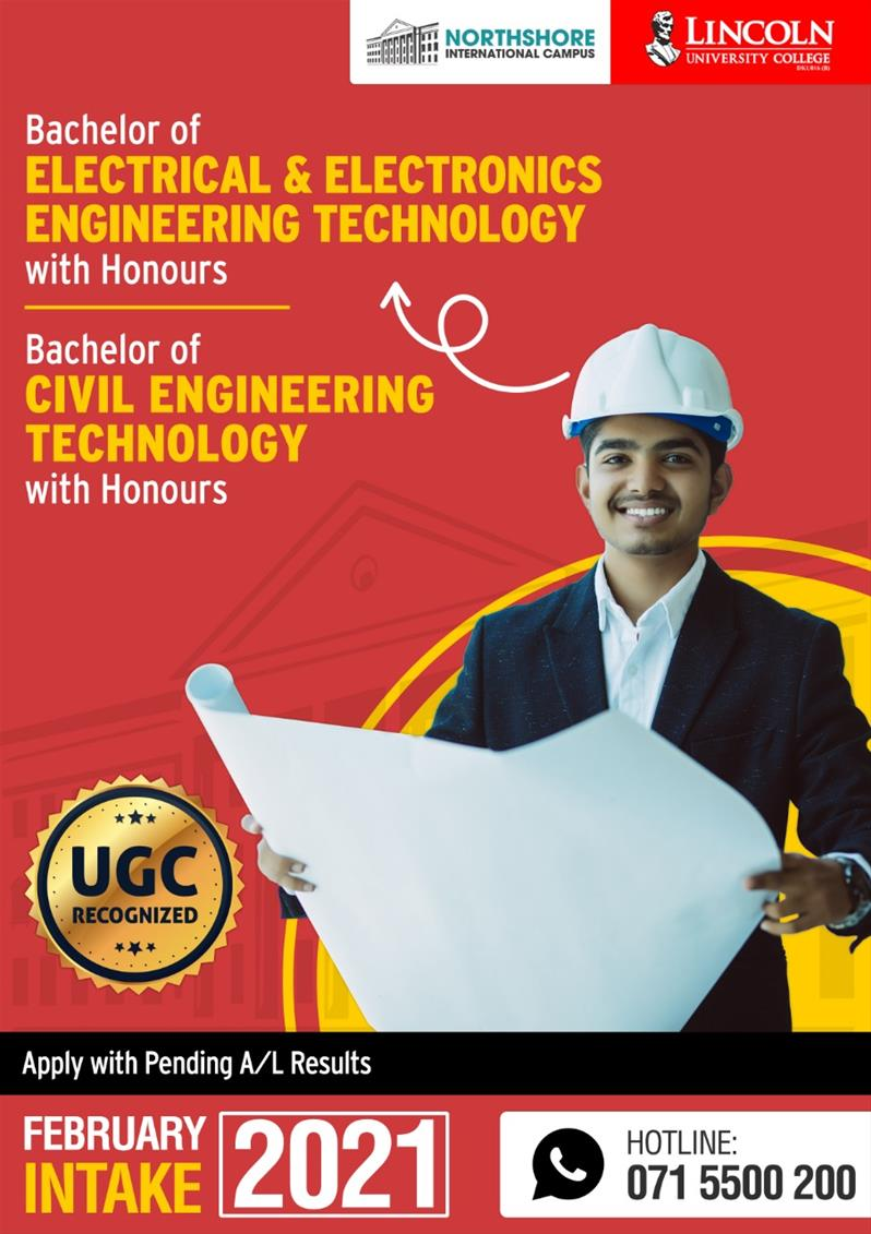 Bachelor of Electrical and Electronics Engineering Technology Honours (Top-up)