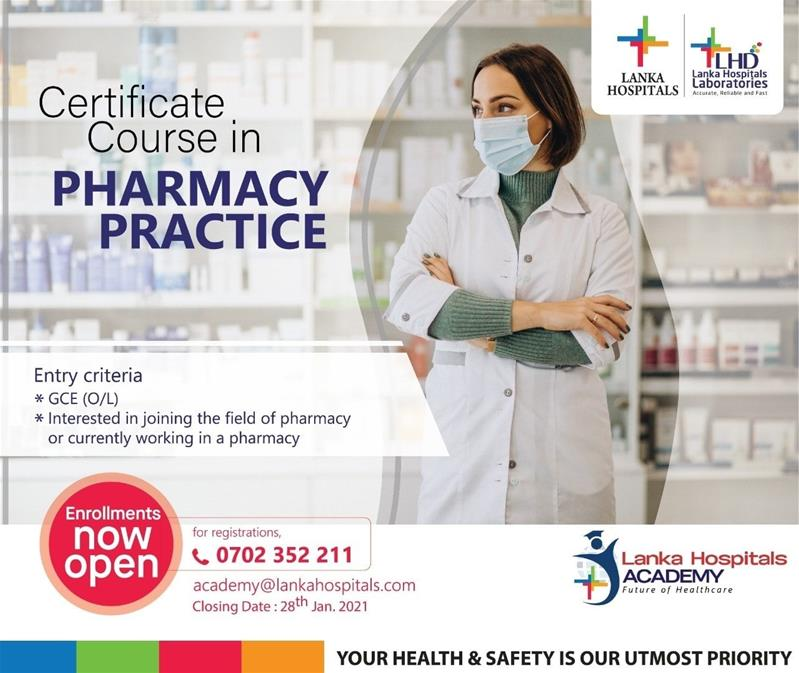 Certificate Course in Pharmacy Practice
