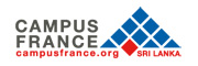 Campus France - Sri Lanka Logo